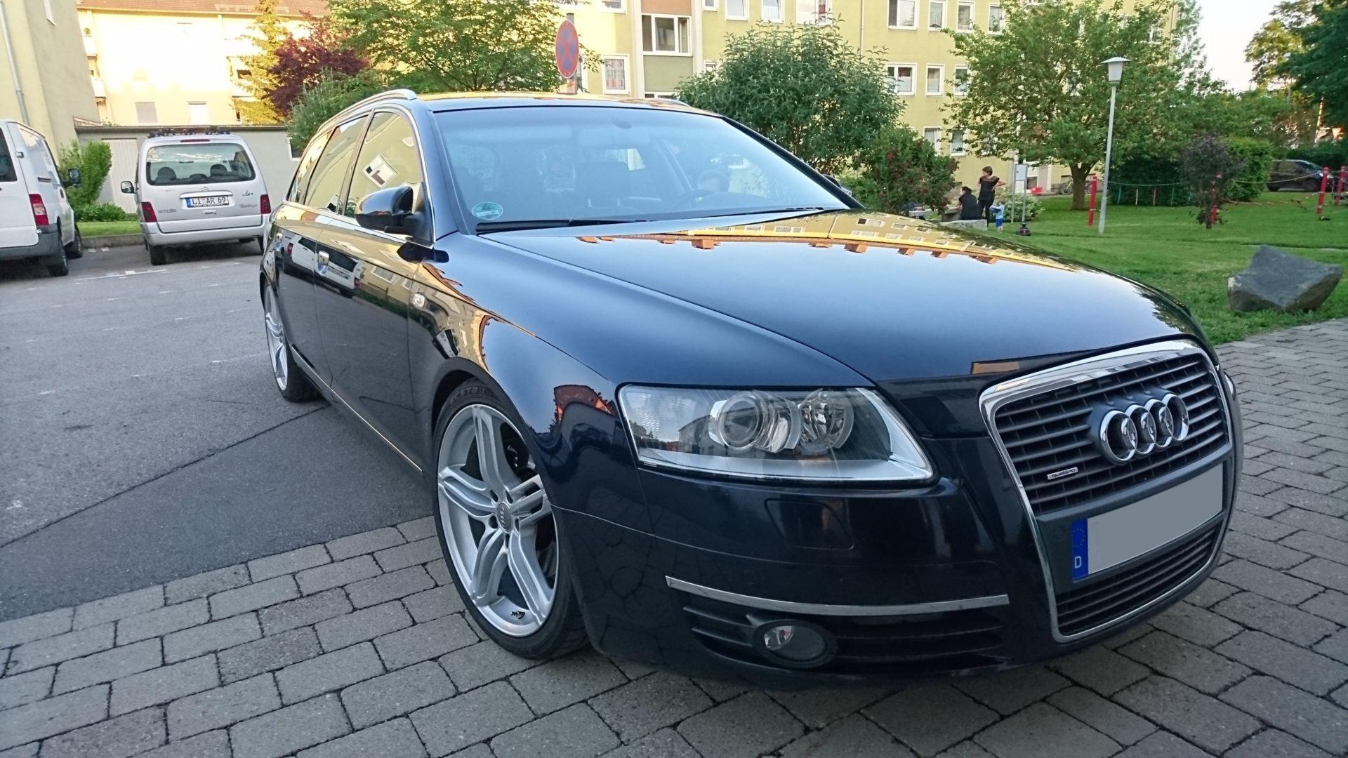professionell aufbereiteter Audi A6